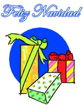 free printable spanish greeting cards feliz navidad merry christmas