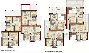 Emejing Duplex Apartment Plans Gallery Decorating Home Design - Apartments design plans