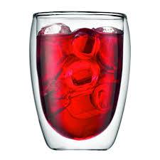 bicchieri bodum bodum pavina wall insulated 12 ounce glasses