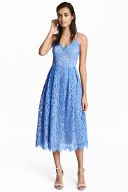 blue lace dress dress blue h m