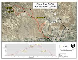 Reno Map Silver State 50 50 Silver State Striders