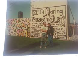keith haring signed leather jacket coming to auction this week