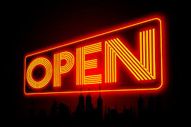 Open Light Up Sign Opening Up Our Free Alpha Simple Microservice Infrastructure For You