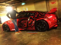 red nissan 350z modified nissan 350z veilside bodykit share my ride gk232 galeri kereta