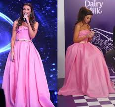 2015 pink princess evening celebrity dresses inspired by lebanon