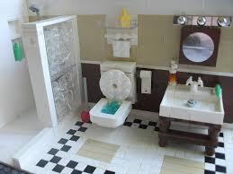 Lego Harry Potter Bathroom Lego City Interiors And Furniture Lego Toilet And Lego Bathroom