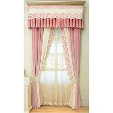 color block geometric embroidery elegant velvet bedroom curtains