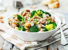 comment cuisiner le brocoli salade de brocoli et kamut sauce cerfeuil recettes femme actuelle