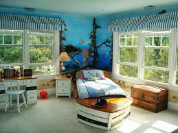 ideas interior awesome toddler bedroom for kids with blue wall