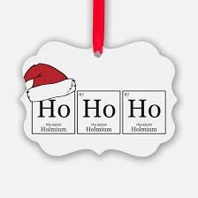chemistry ornament cafepress