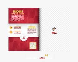 flyer graphic design layout simple album design layout vector material folding layout leaflets