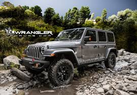 jeep wrangler pink renderings new jeep wrangler jlu brought to life 2018 jeep