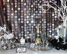 new years party decor diy tutorial new year s tinsel drop hostess with the