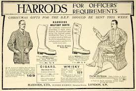 harrods s boots 1916 ad war i harrods boots bef woolie