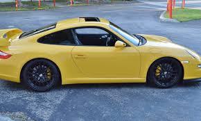 porsche 2006 s 2006 porsche 911 s c2s 6 speed yellow