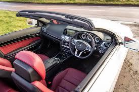 Mercedes Benz E Class 2014 Interior Mercedes Benz E350 Amg Sport Cabriolet Review