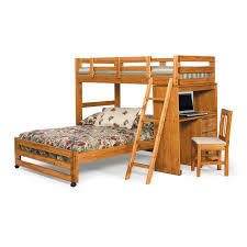 Savannah AFrame Twin Over Full Bunk Bed Hayneedle - Full loft bunk beds