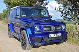 used mercedes g wagon gsc shows some blue love to the mercedes benz g class mercedesblog