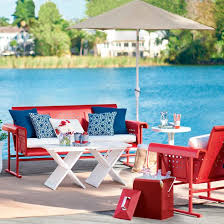 Patio Furniture Boise by Retro Outdoor Furniture Collection Grandin Road