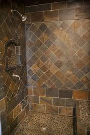 bathroom slate tile ideas travertine slate shower design pictures remodel decor and ideas