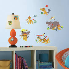 disney lion guard peel and stick wall decals toys