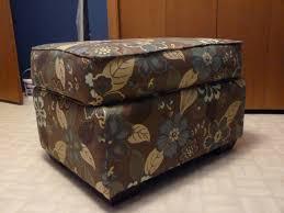 Make Storage Ottoman by D I Y D E S I G N Diy Recycled Storage Ottoman