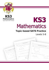 Floor Math by Key Stage 3 Mathematics Essential Sats Practice Levels 5 8