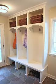 mudroom plans diy mudroom lockers with bench storage pictures countertops