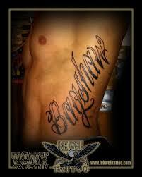 tony austin tattoos rib tattoo bagshaw