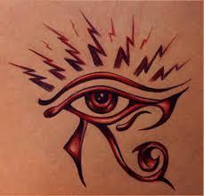 beautiful eye of horus design tattooshunt com