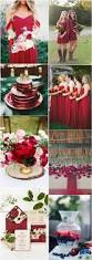 red wedding color ideas fall winter wedding theme ideas deer