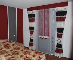 Schlafzimmer Schwarz Weiss Bilder Moderne Schlafzimmer Schiebegardine In Rot Weiß Schwarz Http