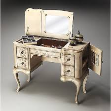 make up vanity mirror writing desk jewelry box armoire french