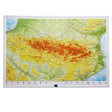 Pyrenees Mountains Map Relief Maps Our Relief Maps Large Format Maps