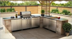 Outdoor Kitchen Lighting Ideas Pre Built Outdoor Kitchen Islands Large Size Of Built Outdoor