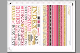 design planner how to design planner stickers and kits