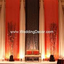 wedding backdrop themes wedding backdrop burnt orange brown ivory orange wedding