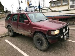 opel frontera 4x4 vauxhall frontera 2 3td 4x4 turbo diesel winch in ilfracombe
