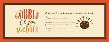 free thanksgiving potluck invitations to use happy thanksgiving