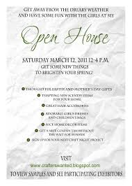 open house invitation wording ideas