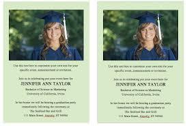 sle graduation invitation free graduation invitation announcement template solid color