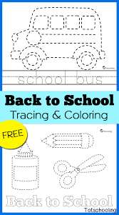 tracing u0026 coloring pages totschooling toddler
