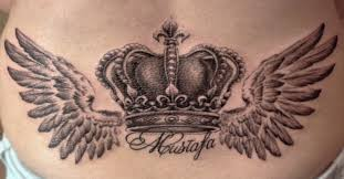 neck wing tattoos browse worlds largest tattoo image gallery trueartists com