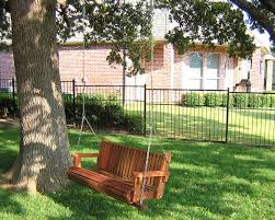 garden bench swings seat only built to last decades forever