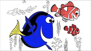 finding nemo coloring 3 hands coloring book