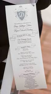 wedding day programs wedding day paperie designs ltd