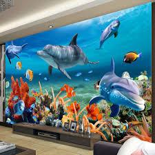 online get cheap ocean fish wallpaper aliexpress com alibaba group