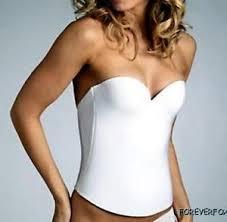 bustier bra for wedding dress bridal bustier corset push up seamless low back longline bra