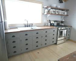 diy kitchen cabinets kreg open shelves for our cabin kitchen white