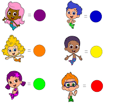 bubble guppies color coded by blueelephant7 on deviantart